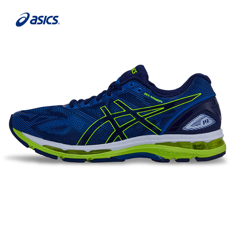 ASICS Men Shoes GEL-NIMBUS 19 Cushion Running Shoes Breathable Sports Shoes