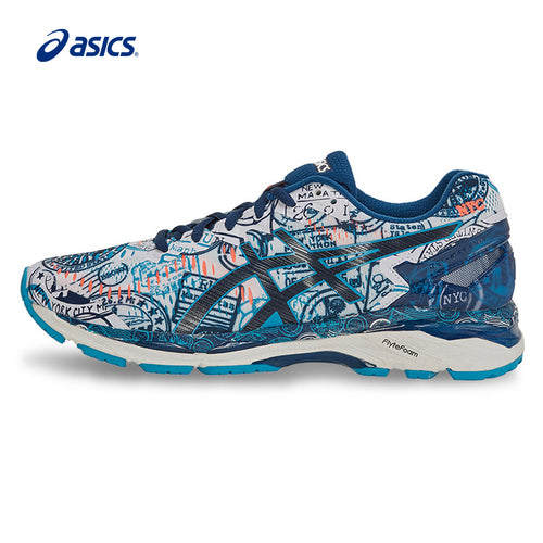 Original ASICS Men Shoes GEL-KAYANO 23 Breathable Cushion Running Shoes Sports Shoes Sneakers free shipping