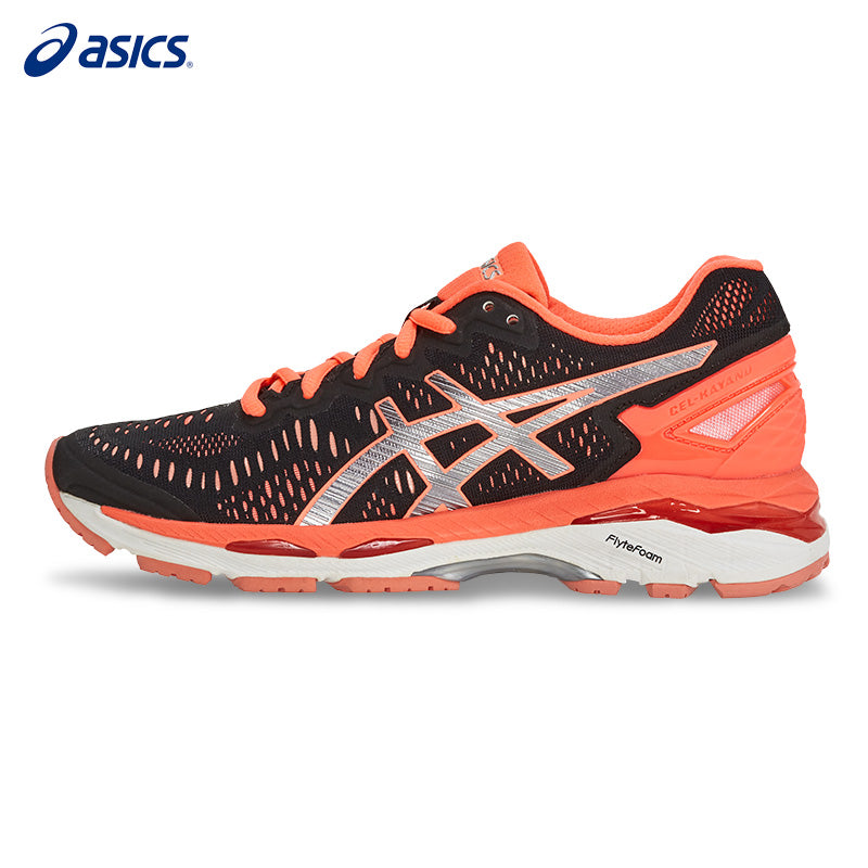 ASICS Women Shoes GEL-KAYANO 23 Breathable Cushion Running Shoes Light Weight Sports Shoes