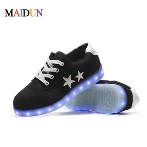 2017 New Arrival Casual Shoes Led Shoes Glowing 11 Colors LED Men unisex Fashion Luminous Led Light UP Shoesfor Adults Size35-45