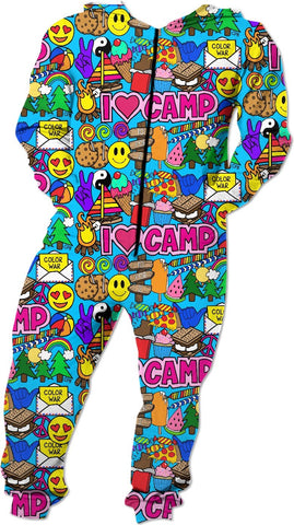 I Love Camp Onesie
