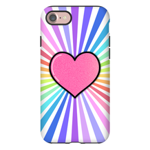 Starburst Heart iPhone Case