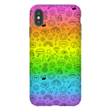 Doodle Icons iPhone Case