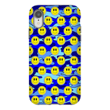 Smiley Blue Camo Phone Case