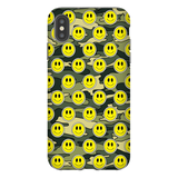 Smiley Green Camo iPhone Case