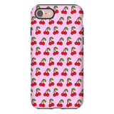 Cherries Pink iPhone Case