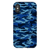 Navy Camouflage iPhone Case