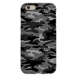 Gray Camouflage iPhone Case