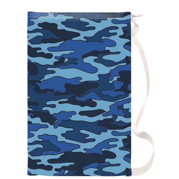 Navy Camouflage Laundry Bags