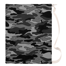 Gray Camouflage Laundry Bags
