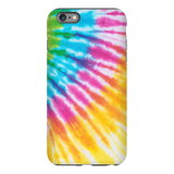 Cropped Tie Dye Phone Case