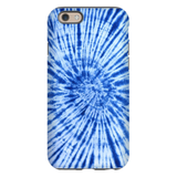 Blue Tie Dye Phone Case