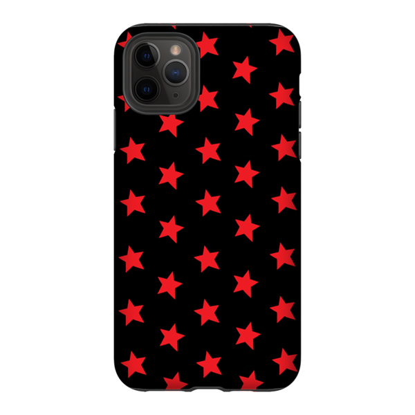 Red & Black Stars iPhone Case