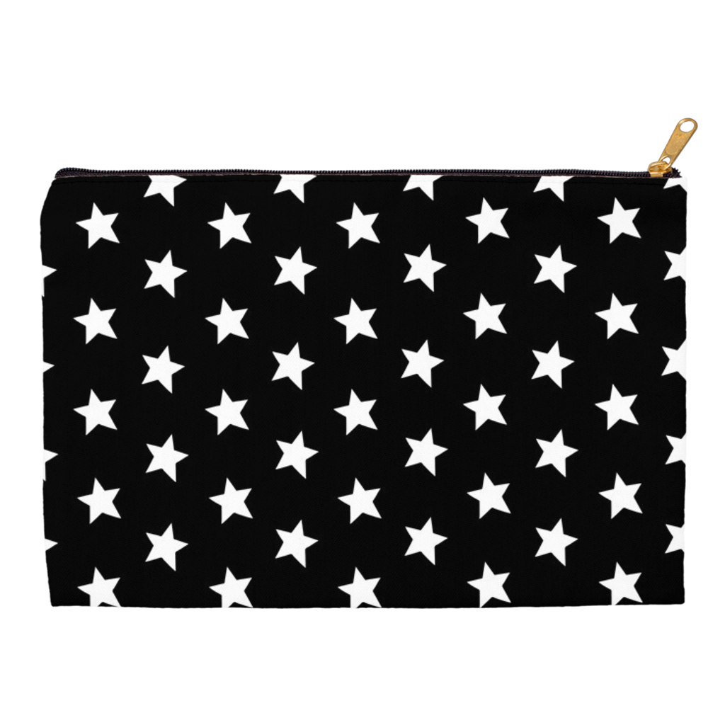 Black and White All-Star Accessory Pouch