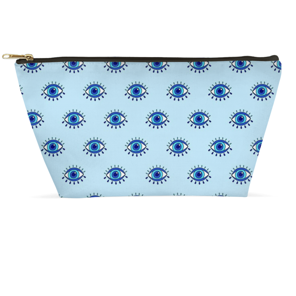 Blue Eyes Accessory Pouch
