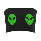 Double Alien Bandeau Top
