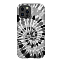 Black & Gray Tie Dye Phone Case