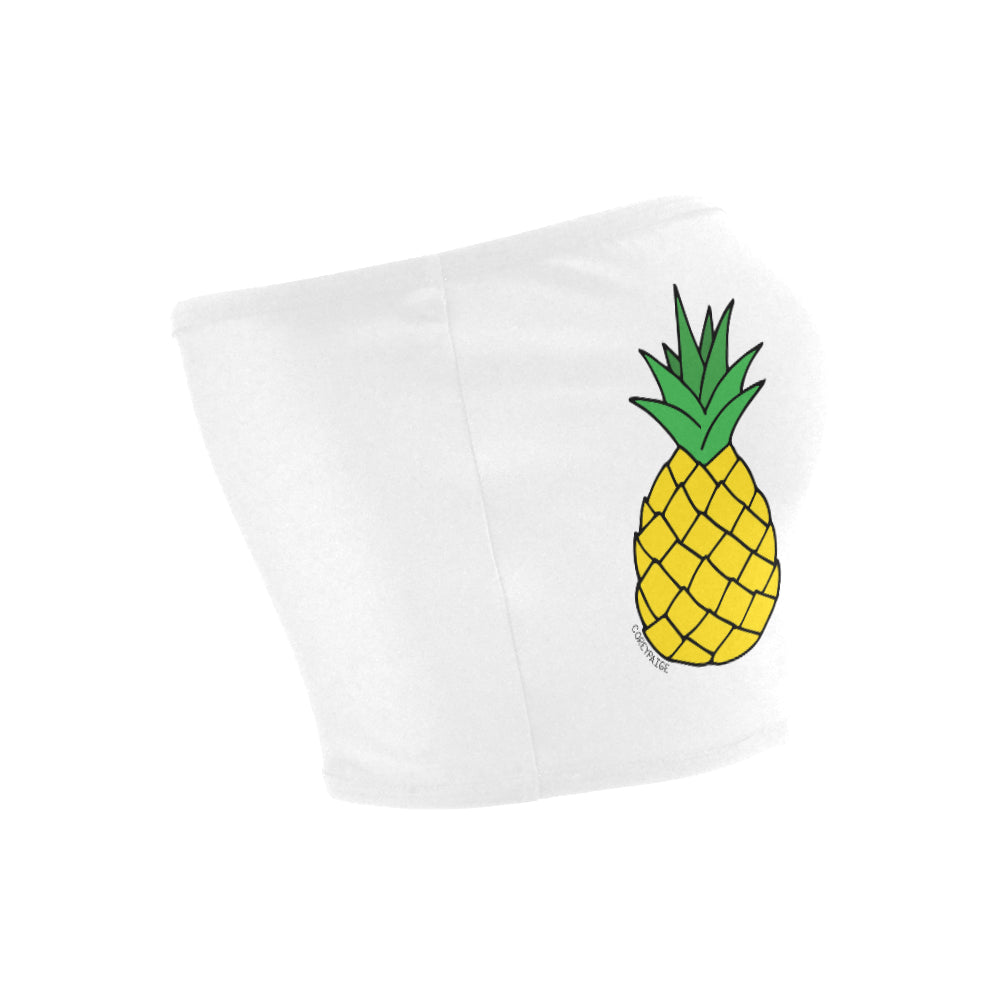 Double Pineapples Bandeau Top