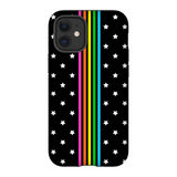Rainbow Stripe Stars Phone Case