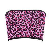 Pink Cheetah Bandeau Top