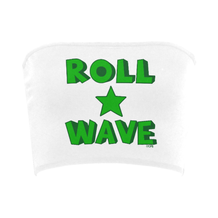 Roll Wave Star Stacked Bandeau Top