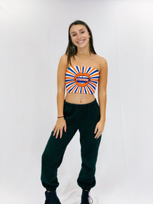 Syracuse Mouth Starburst Tube Top