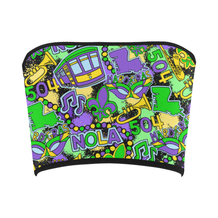 Mardi Party Bandeau Top