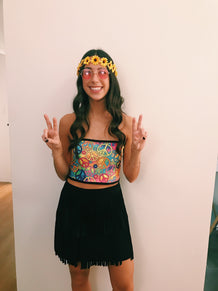 Hippie Bandeau Top