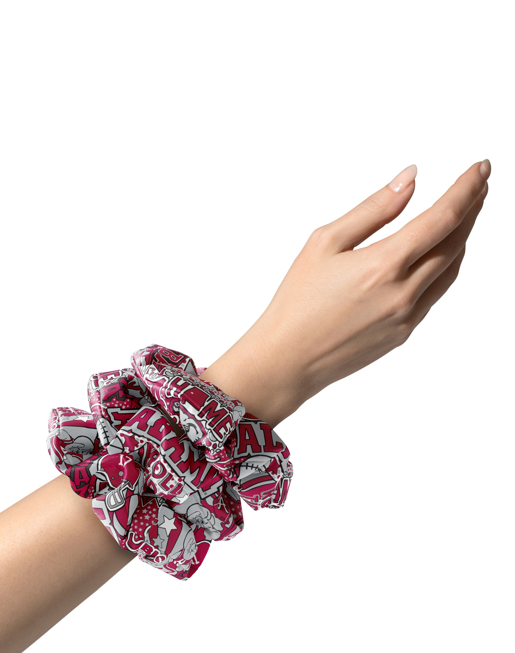 Alabama Collage Scrunchie