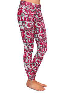 Alabama Collage Leggings