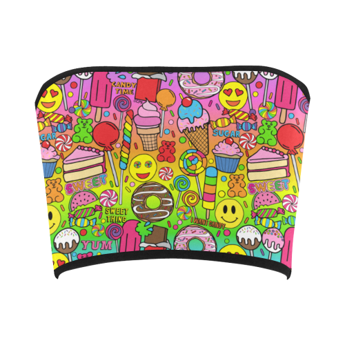 I Want Candy Bandeau Top