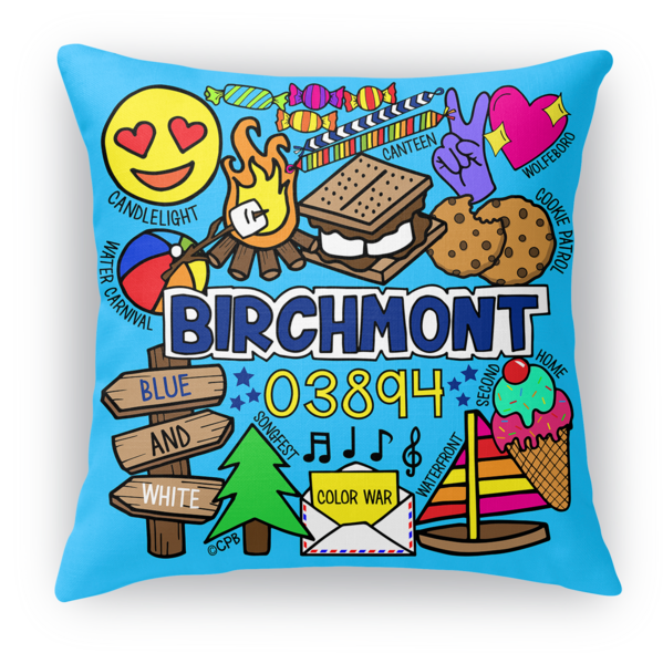 Birchmont Throw Pillow Case