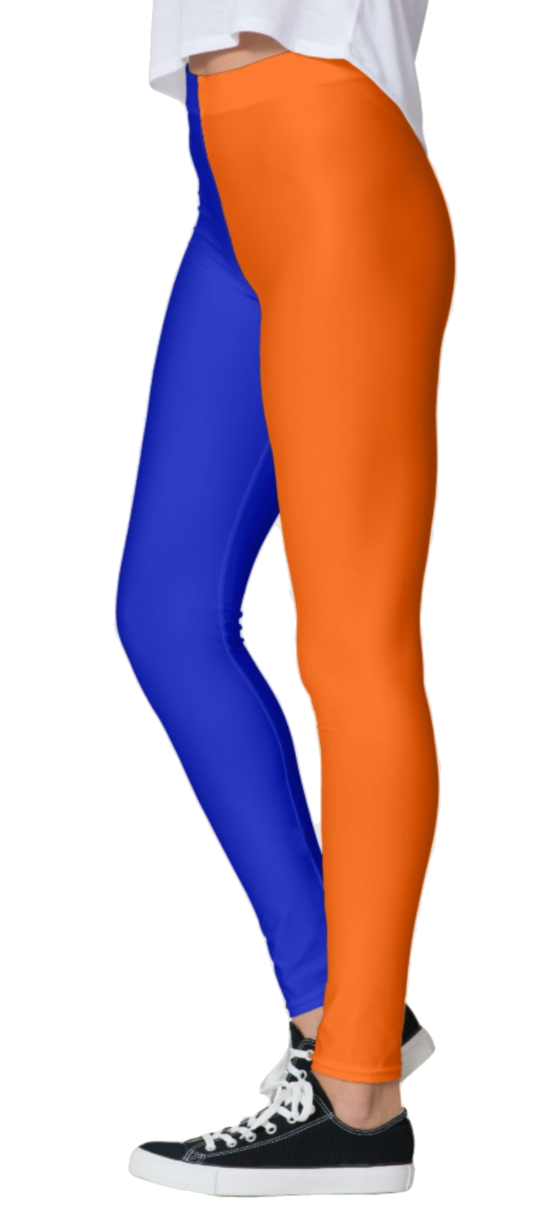 Half Color Leggings