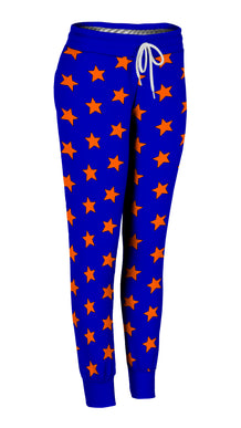 Blue & Orange All-Star Joggers