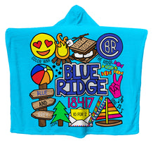 Camp Collage Hoodie Blankets