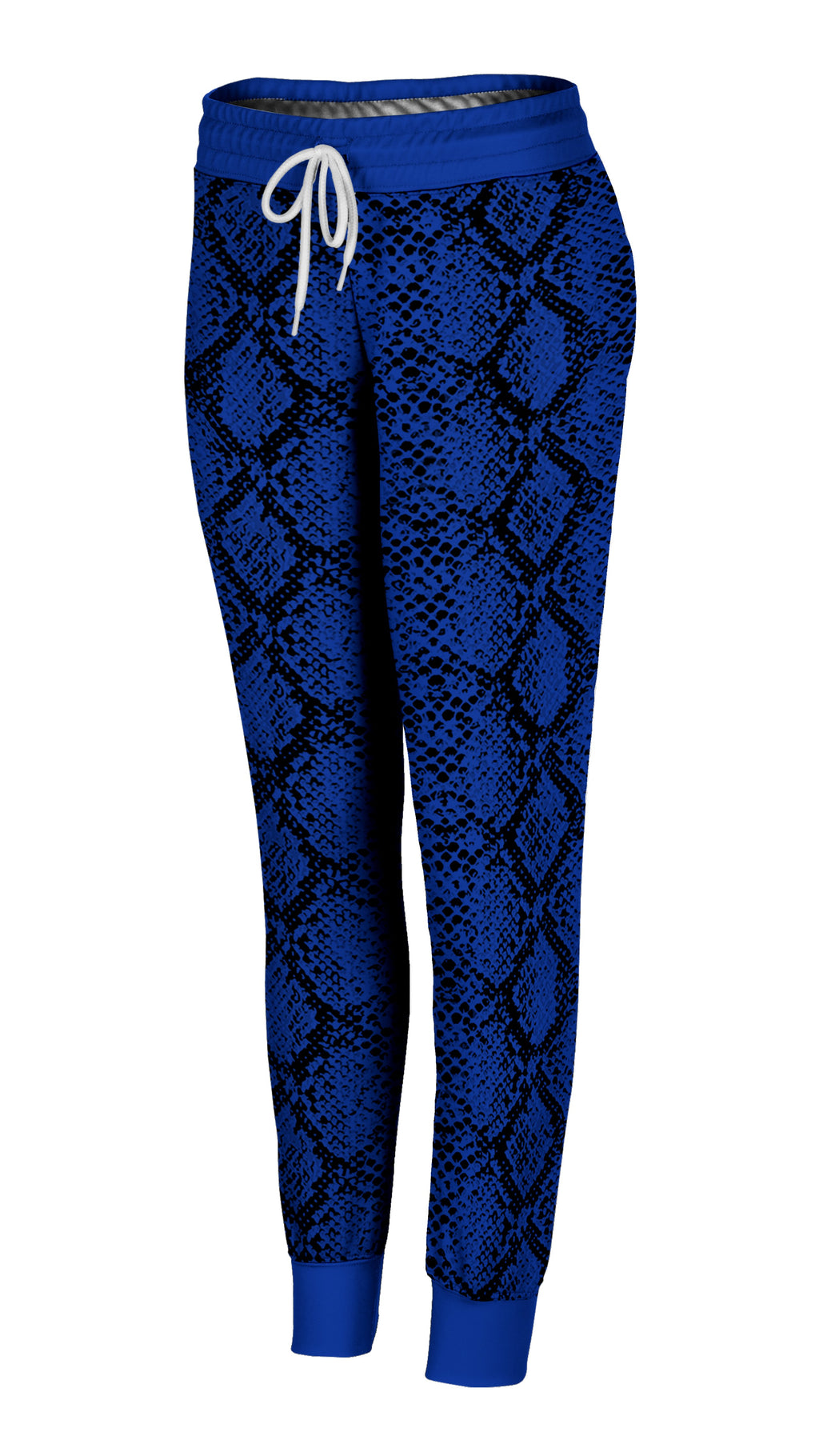 Colored Snakeskin Joggers