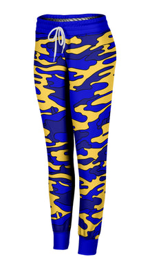 Colored Camouflage Joggers