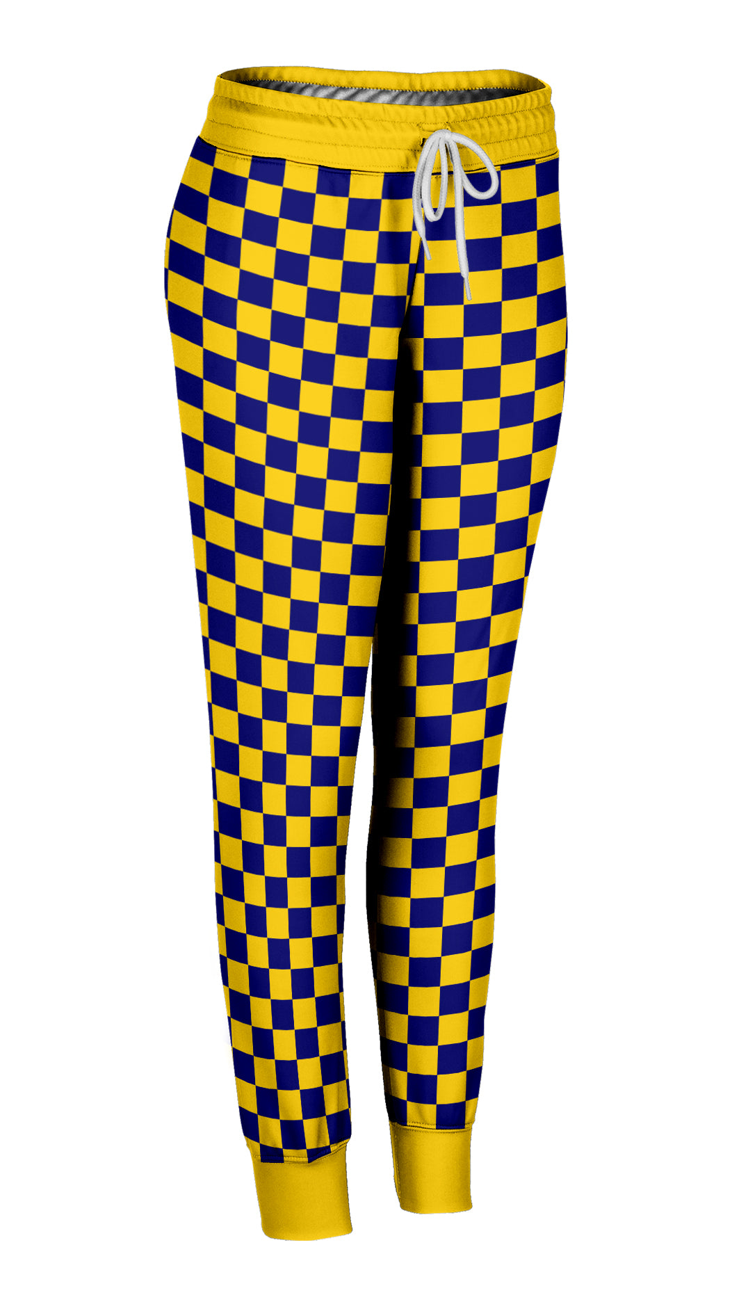 Colored Checkered Joggers