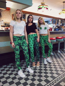 Shamrock Split Leggings