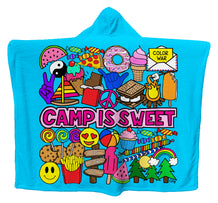 Camp Is Sweet Hoodie Blanket