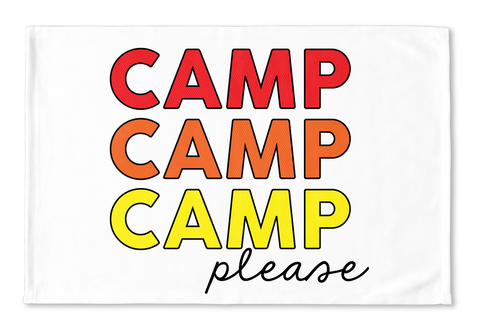 Camp Please x3 Floormat
