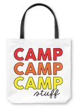 Camp Stuff Tote Bag