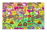 Camp Times Rainbow Floormat