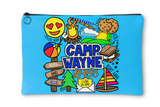 Camp Collages Accessory Pouch