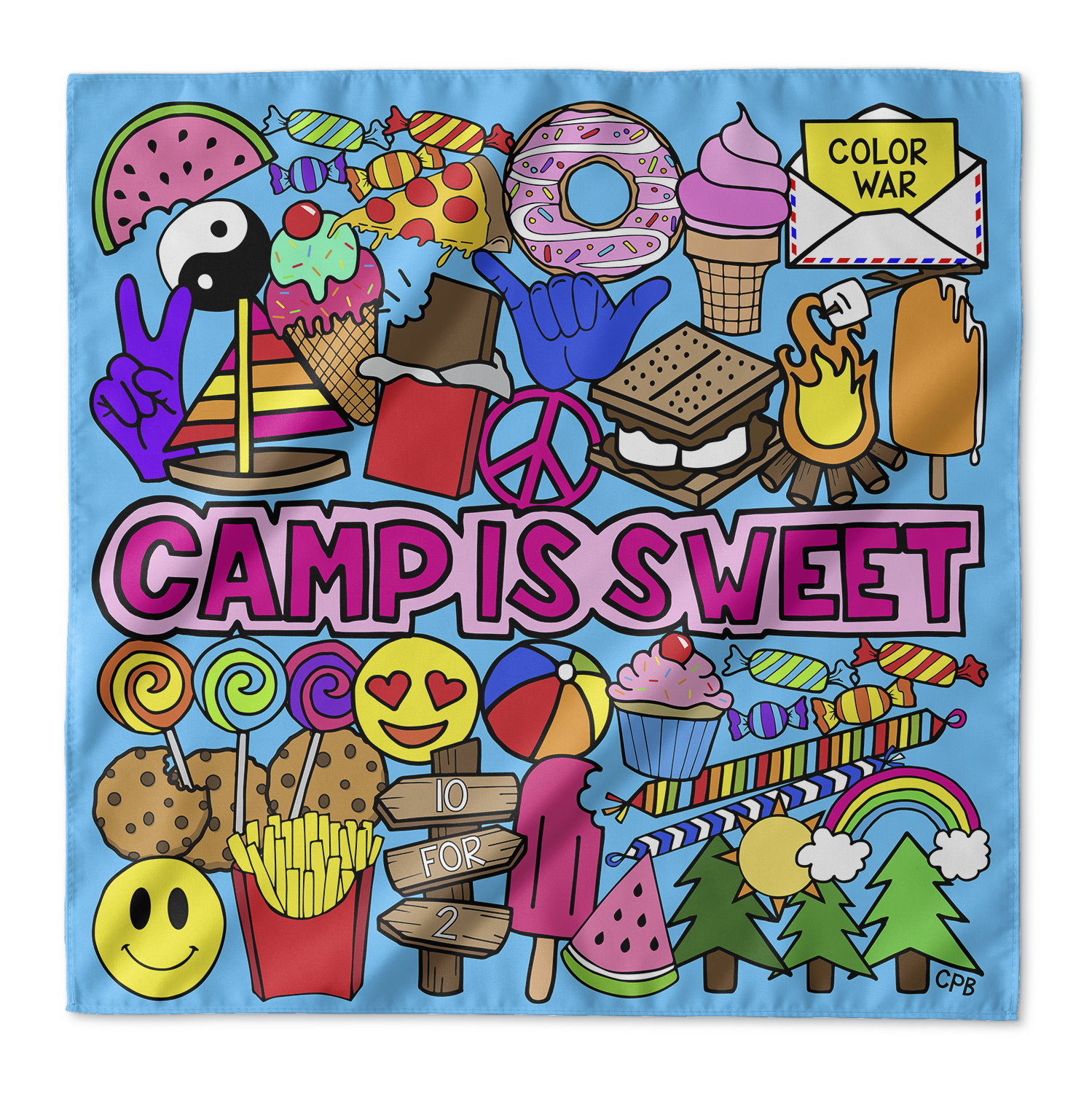 Camp Is Sweet Bandana