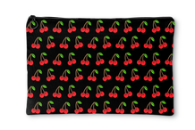Cherry Black Accessory Pouch