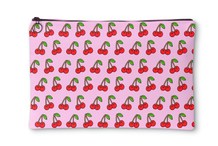 Cherry Pink Accessory Pouch