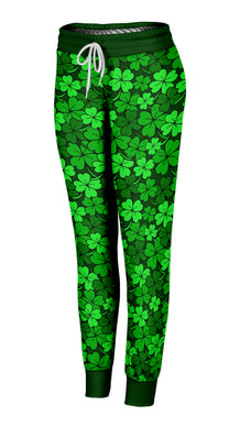 Clustered Shamrocks Joggers
