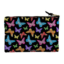Colorful Butterflies Accessory Pouch