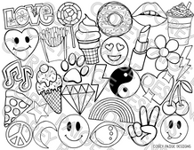 Emoji Coloring Sheet